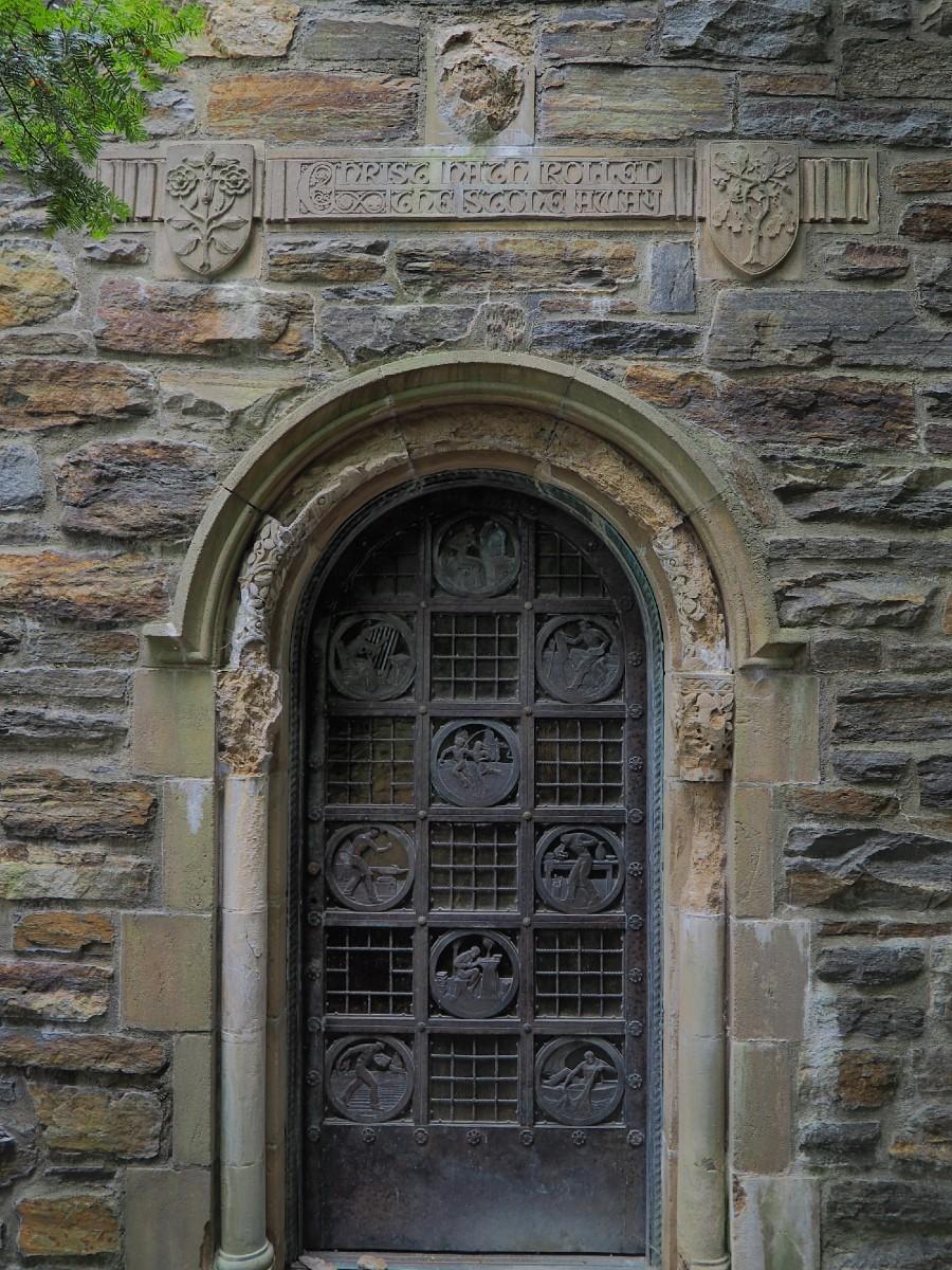 Garrett Chapel Door
