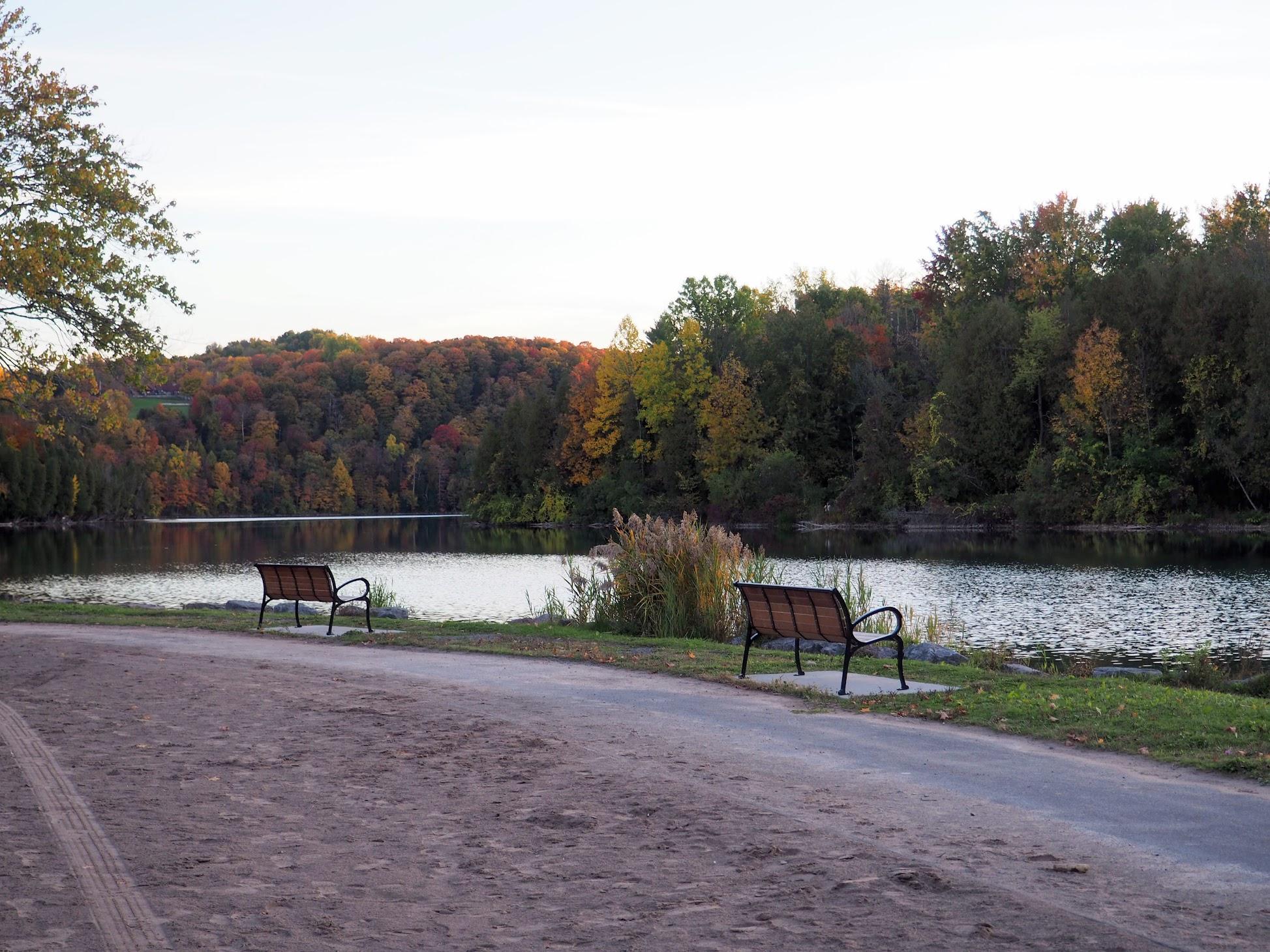 Green Lakes in Fall