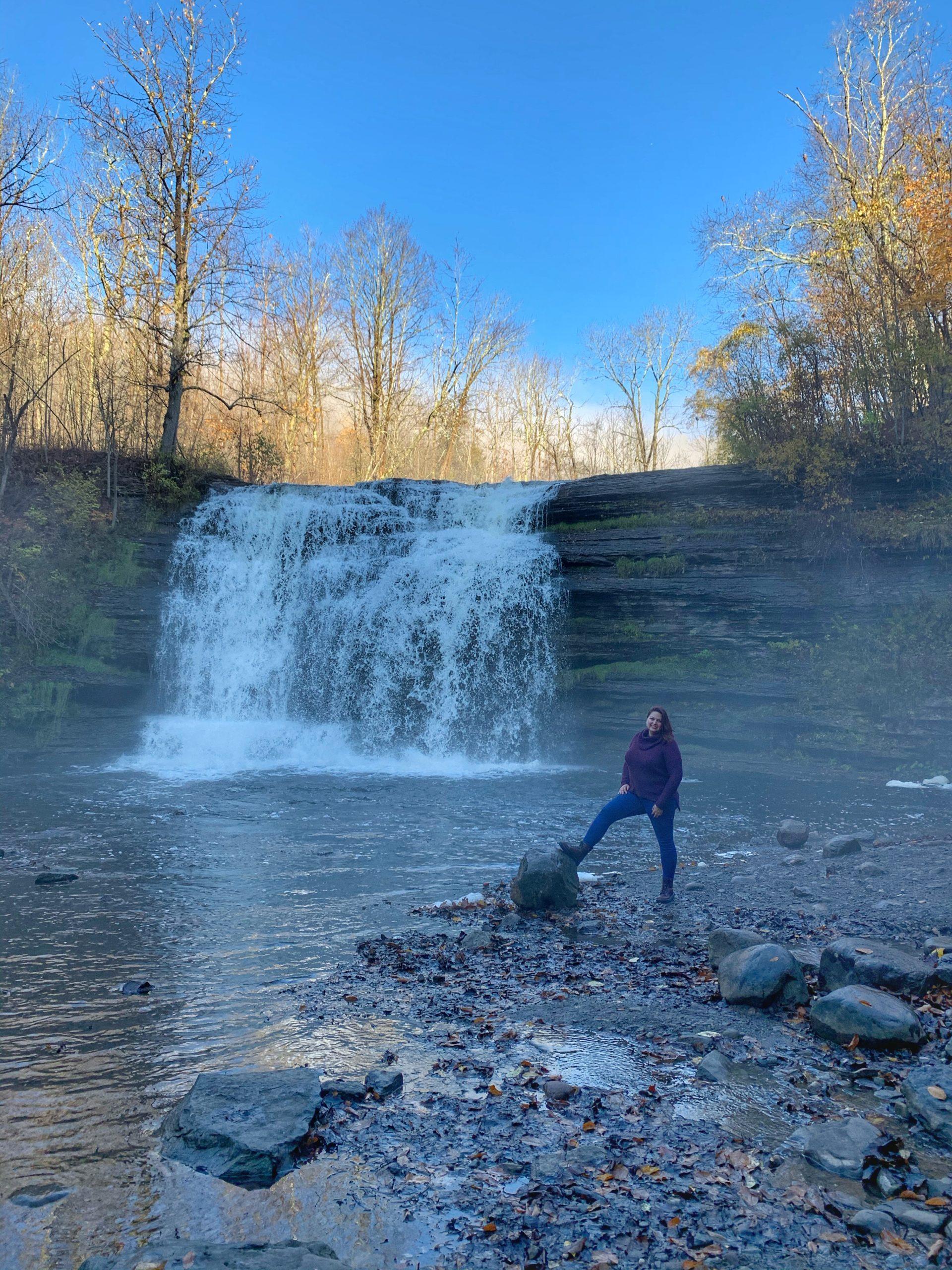 Pixley Falls Waterfall