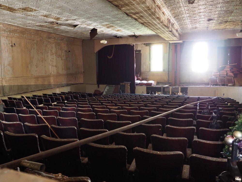 Klinkhart Hall in Sharon Springs