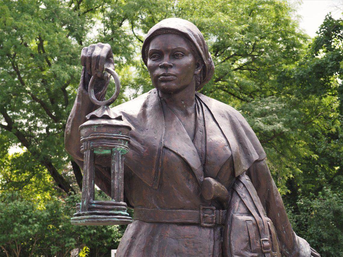 Harriet Tubman Statue in Auburn