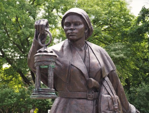 Harriet Tubman Statue in Auburn
