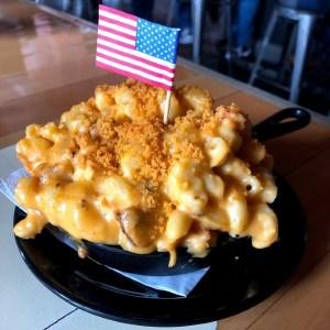 Mac and Cheese at Press Room Pub