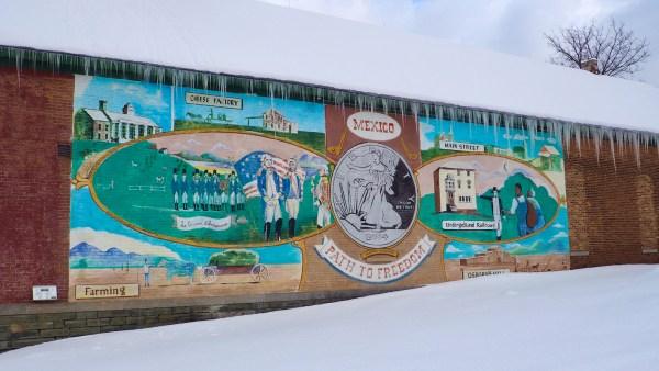 Mexico Underground Railroad Mural