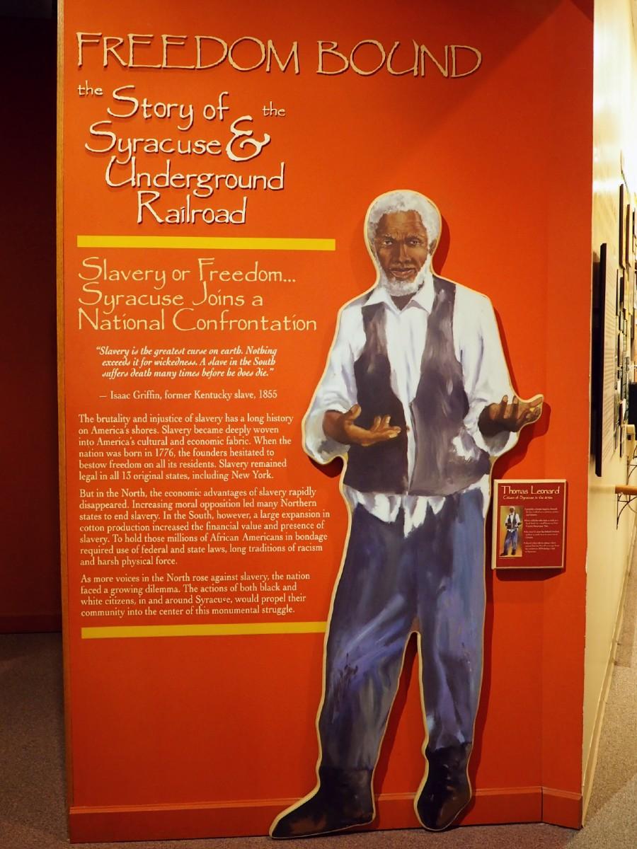 Freedom Bound Exhibit at OHA