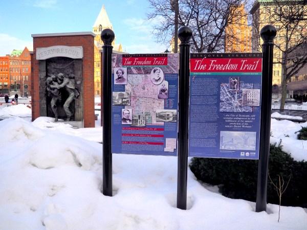 The Freedom Trail in Syracuse