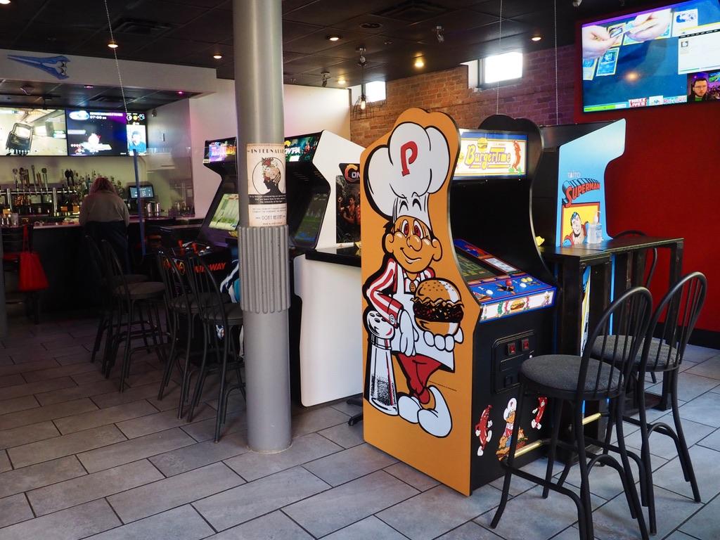 Three Lives Arcade Bar in Syracuse