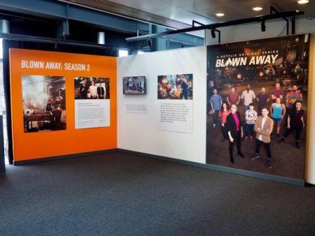 Corning Museum of Glass Blown Away Exhibit