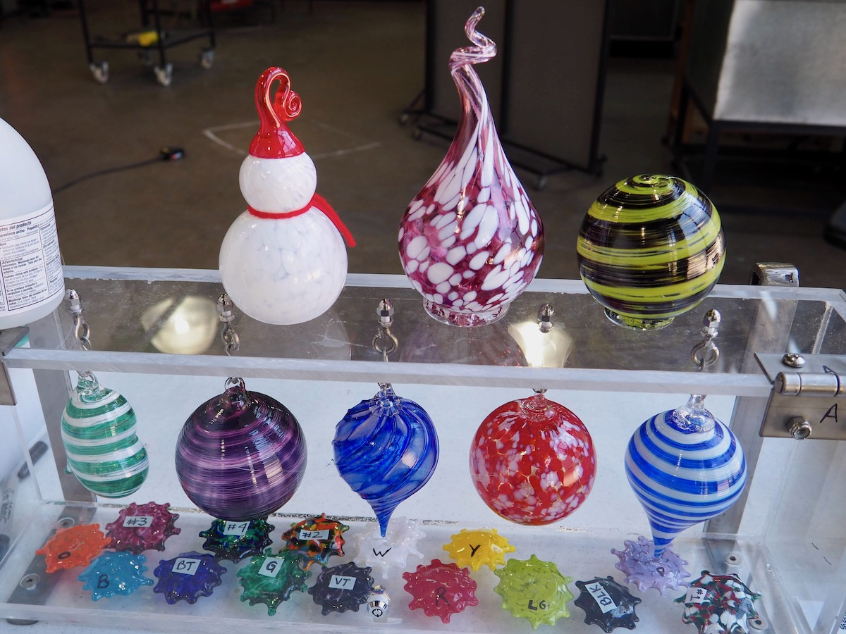 Corning Museum of Glass Glassblowing Workshop
