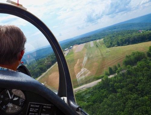 Landing the Glider in Elmira