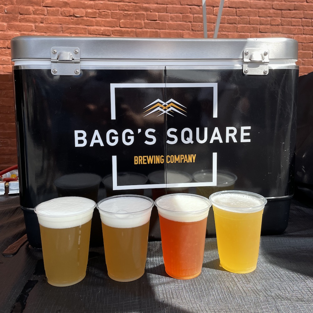 Beers at Baggs Square Block Party