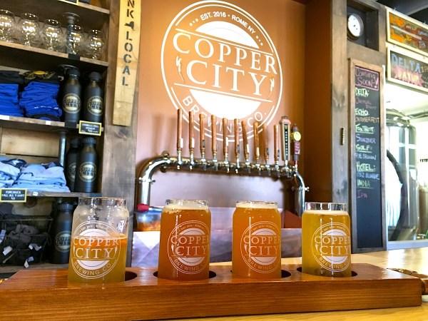Utica Breweries - Copper City