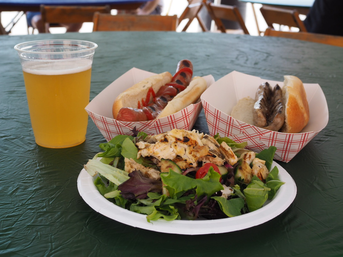 Food at Baggs Square Block Party