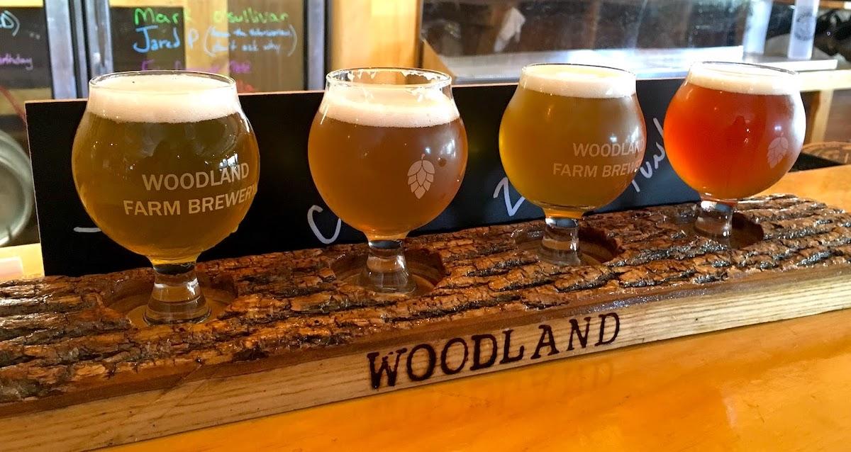 Woodland Brewery Flight