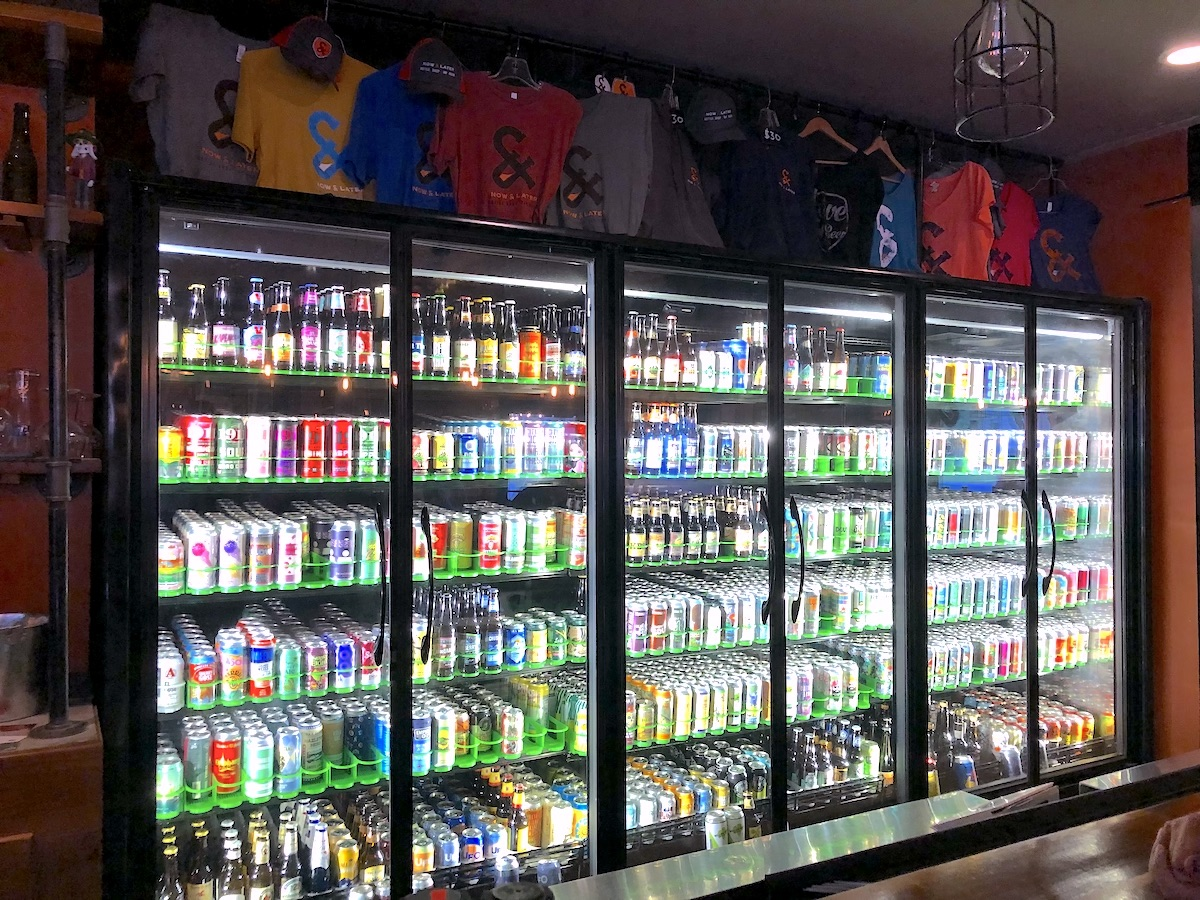 Now and Later Beer Selection