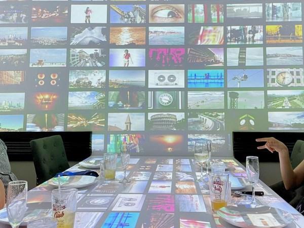 Virtual Dinner Image Collage