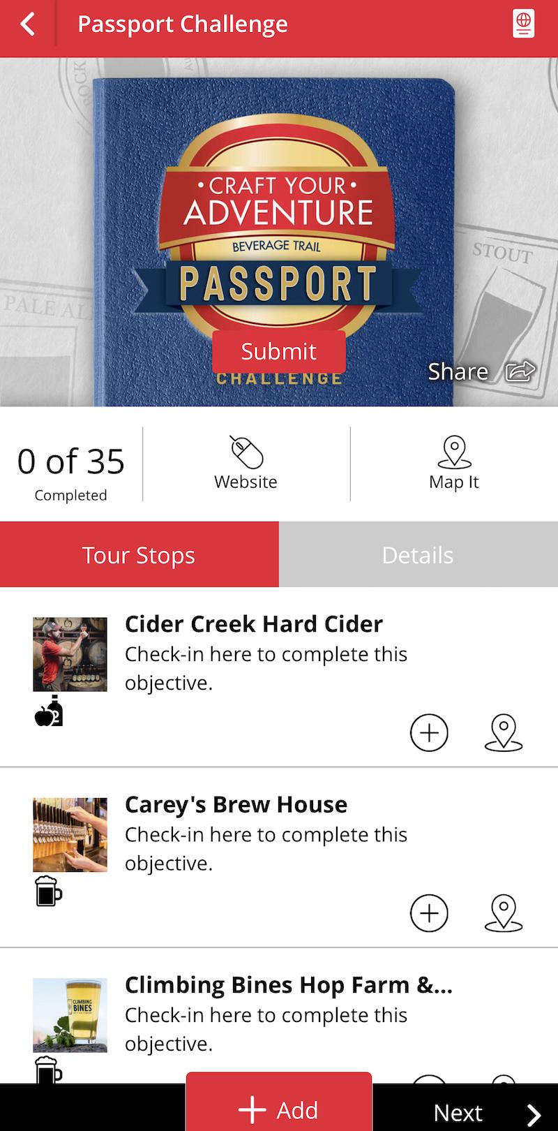 Craft Your Adventure App - Challenge