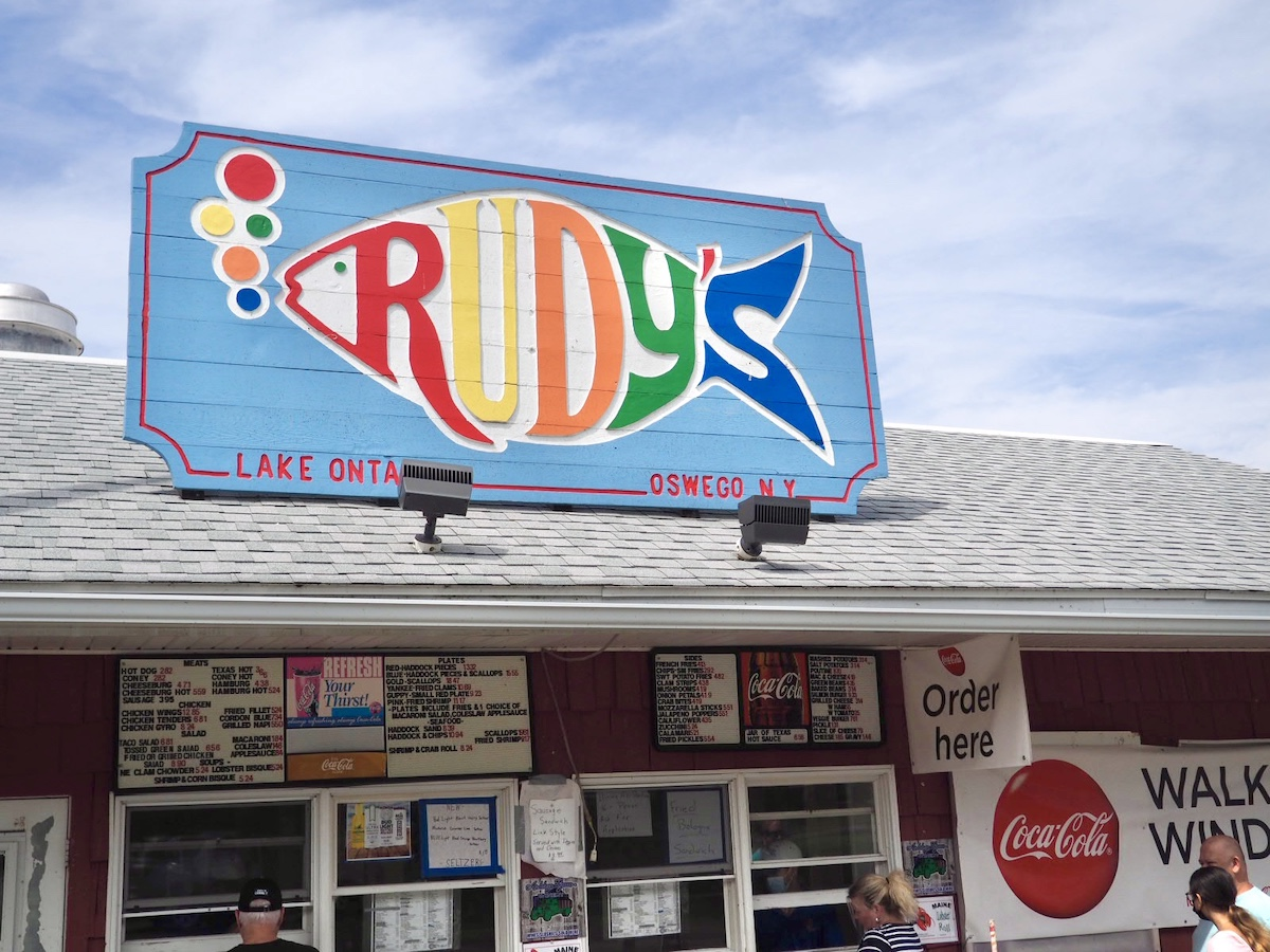 Rudy's in Oswego