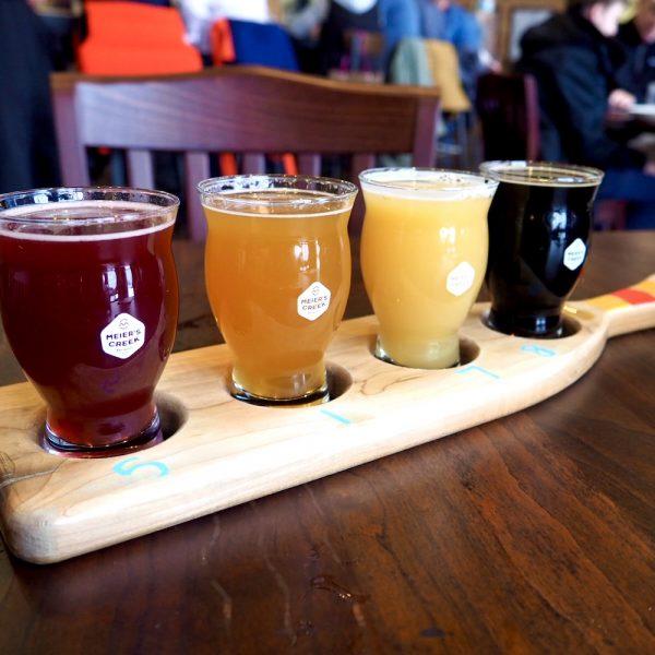 Meiers Creek Beer Flight
