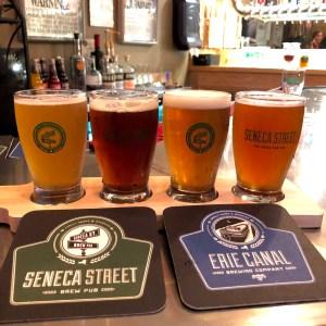 Seneca Street Brew Pub Flight
