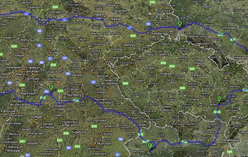 European Vacations Planning