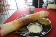 Breakfast fot for a maharaja - street chai and masala dosa. All for the princely sum of AU$1.20