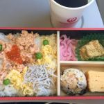 【機内食】日本航空(JAL) 成田→釜山・金海国際空港(2017年2月)