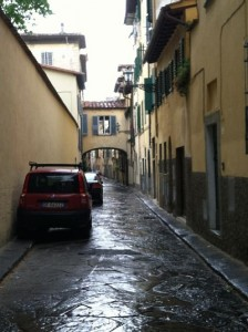 Florence Rain Street