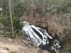 Falls Water Yellowstone