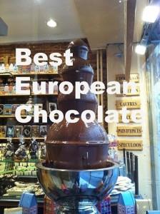 Best European Chocolate