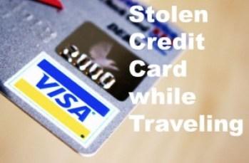 Credit Card Stolen