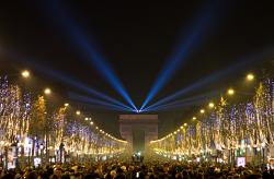 Lights France Parade