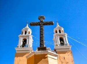 Mexico Church Cross