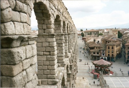 Aquaduct in Spain