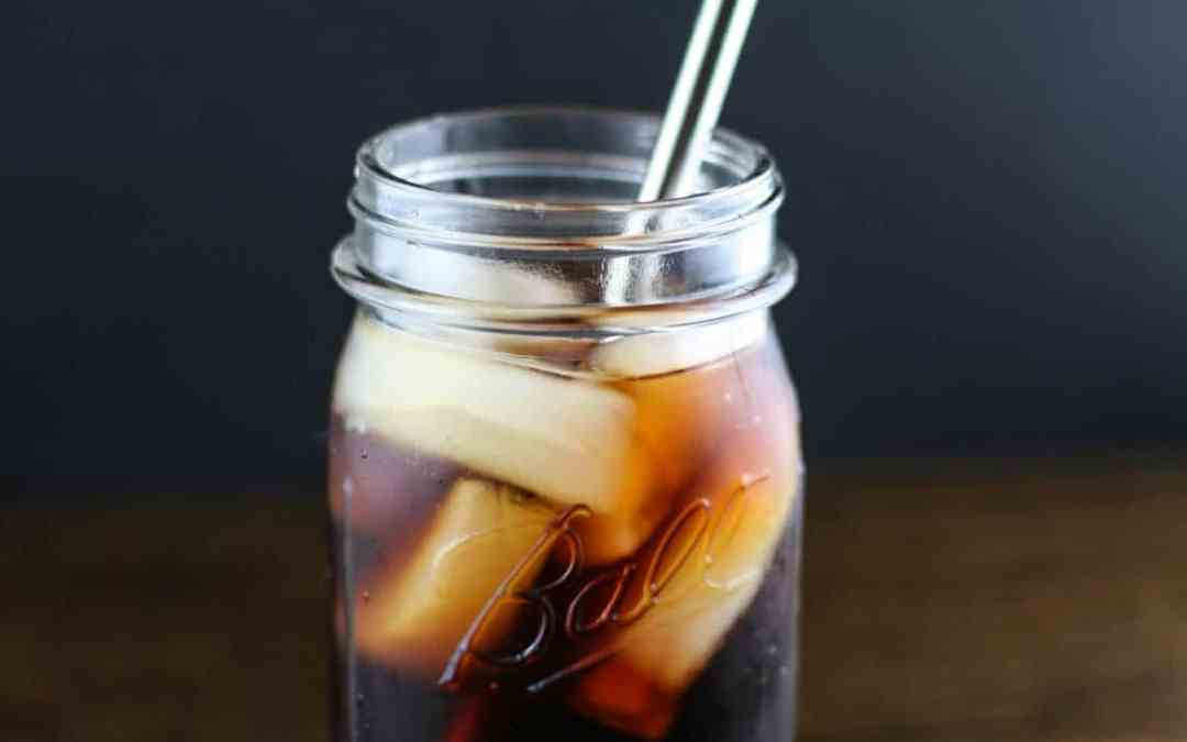Cold Brew Coffee with Homemade Vanilla Creamer