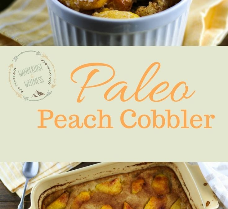 Paleo Peach Cobbler