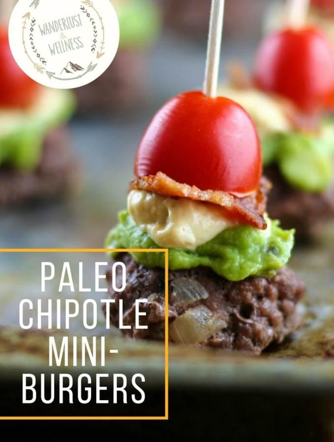 paleo chipotle mini burgers