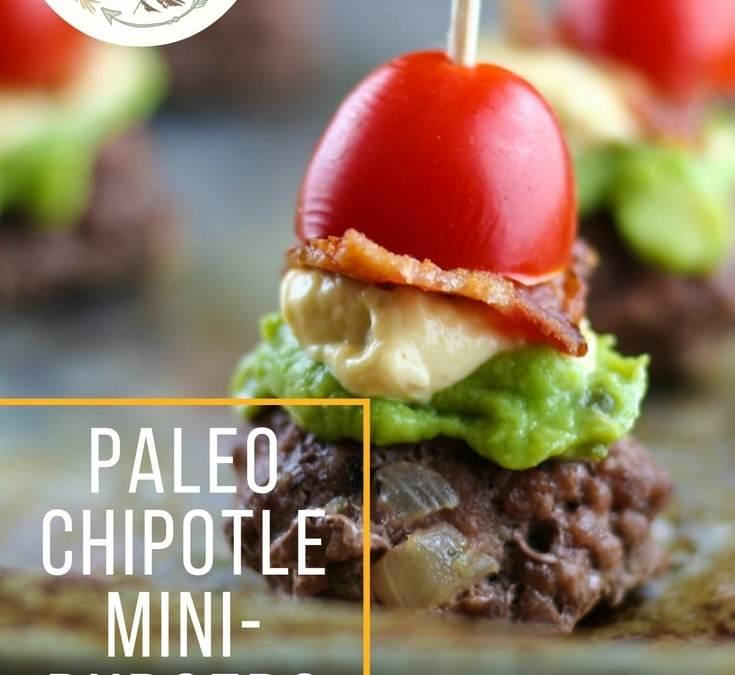 Paleo Chipotle Mini-Burgers
