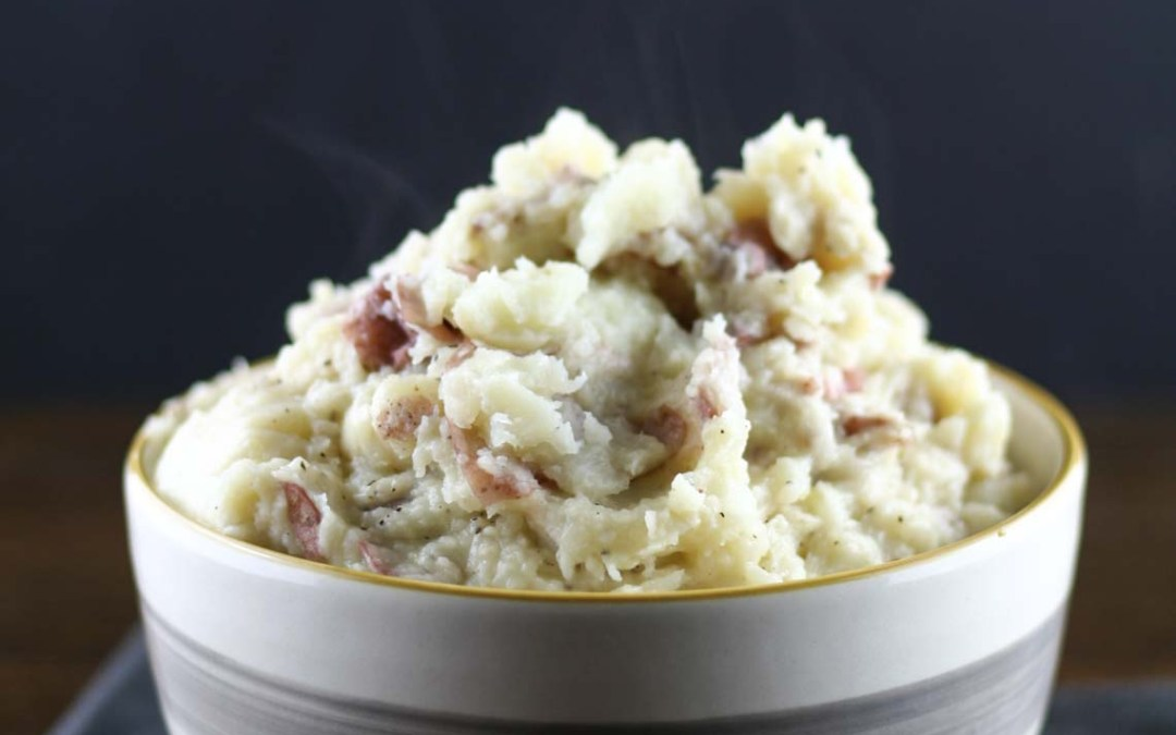 Mashed Parmesan Potatoes