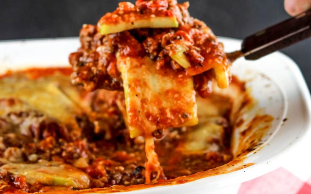 Spicy Zucchini Lasagna