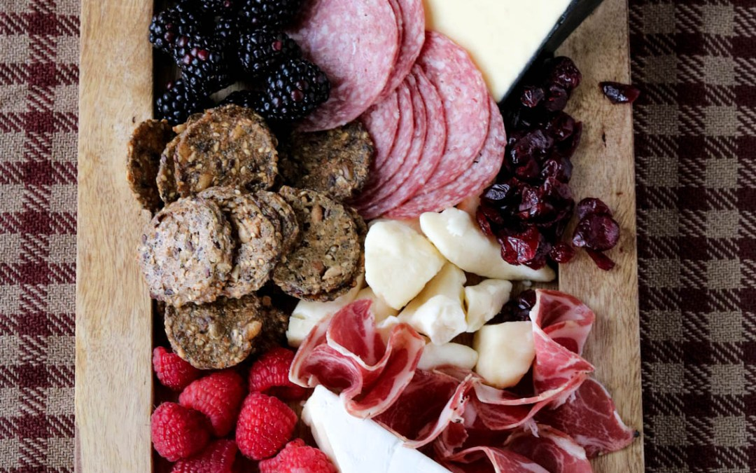 Thanksgiving Meat and Cheese Board