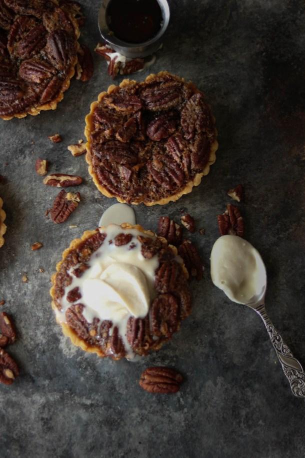 gluten free pecan pie tart