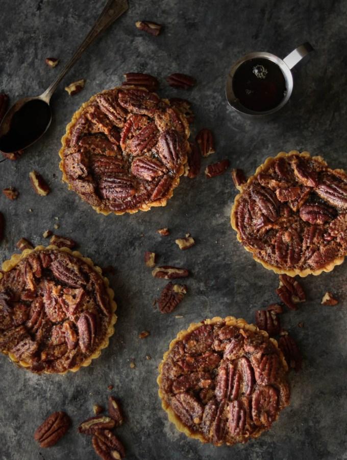 gluten free pecan pie tarts