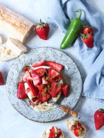 Strawberry Bacon Brie