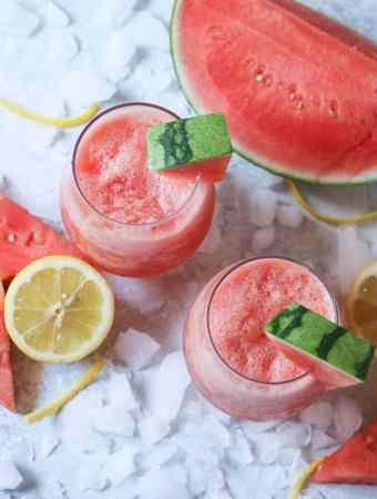 Watermelon Wine Slush