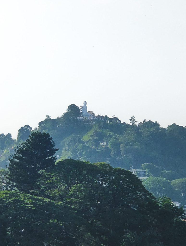 Bahirawakanda Vihara Buddha Statue - Kandy, Sri Lanka - Wanderlustgary.com