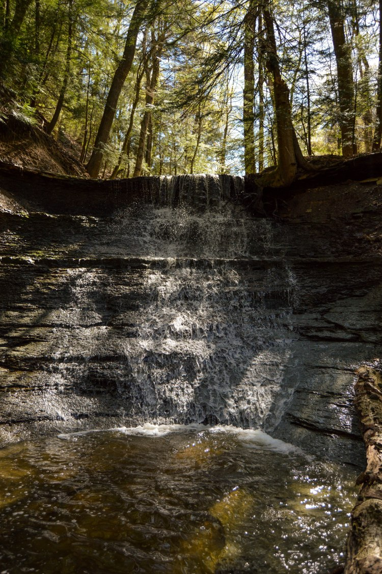 No name waterfalls_Hell Hollow Wilderness