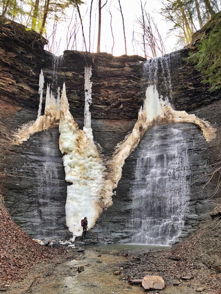 twin sister falls ohio