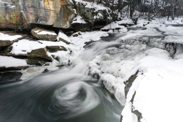 berea falls cleveland waterfall