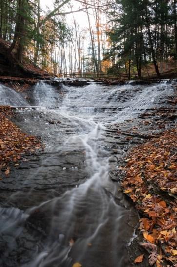 brida veil falls waterfall cleveland